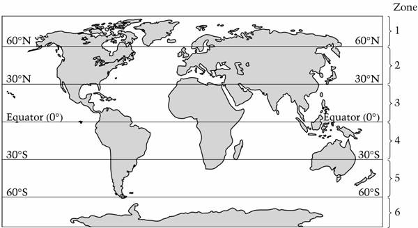 Questions which zones in the map above are most likely to have a temperate climate warm summers and cold winters gumiabroncs Choice Image